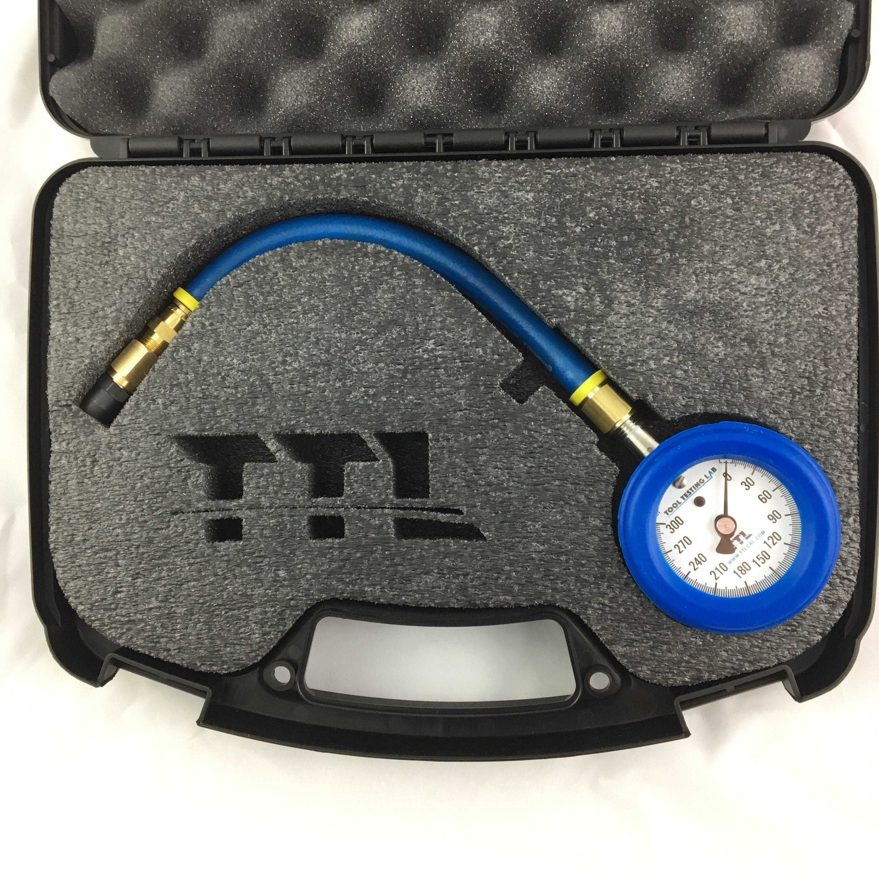 Psi Tire Pressure >> Ttl Analog Aircraft Tire Gauge 0 300 Psi